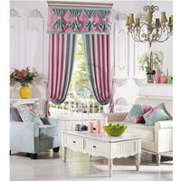 2014 modern string curtain solid color curtain for living room factory