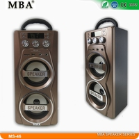 2016 Hot Trending Computer Speaker with USB,SD,MMC,FM,digital display, remote control,karaoke function