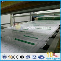 GWX 100% Bayer Lexan Material Heat Insulation Transparent Solid Polycarbonate Sheet