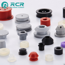 Heat-resistant Customized color stoppers / silicone rubber plugs for Electronic equipment