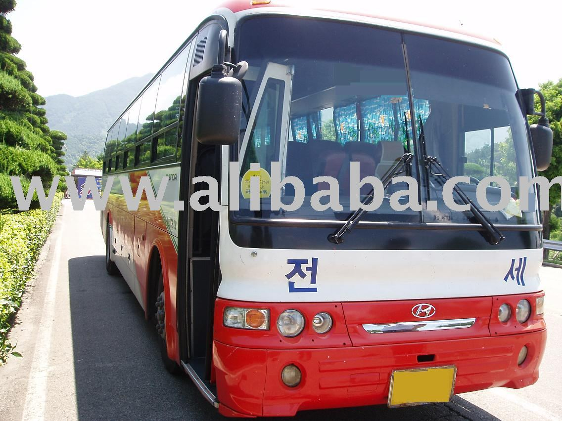 Used Korean Tour bus