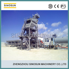 SINOSUN easy installing easy transporting hot mix mobile portable asphalt batch plant