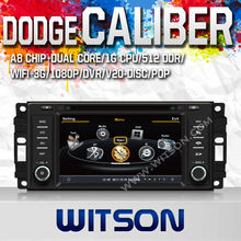 WITSON 2 din car dvd for DODGE CALIBER WITH A8 CHIPSET 1080P V-20DISC WIFI 3G INTERNET DVR SUPPORT