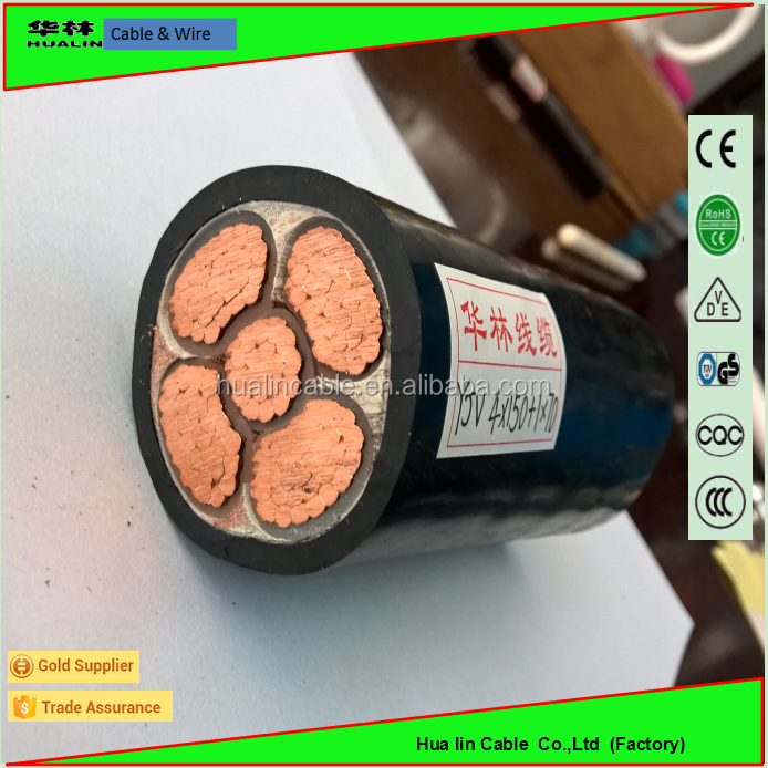 IEC standard CE UL GS CCC approved copper conductor underground low voltage cable