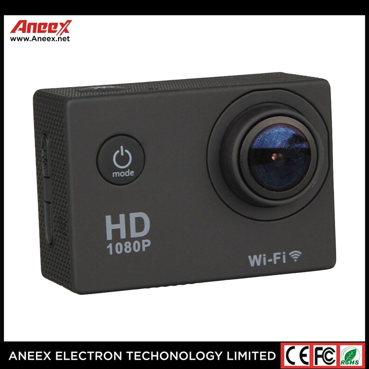 4K FHD waterproof sports action camera with wifi