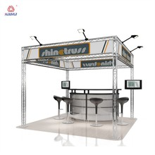 Exhibition truss system exhibition booth design
