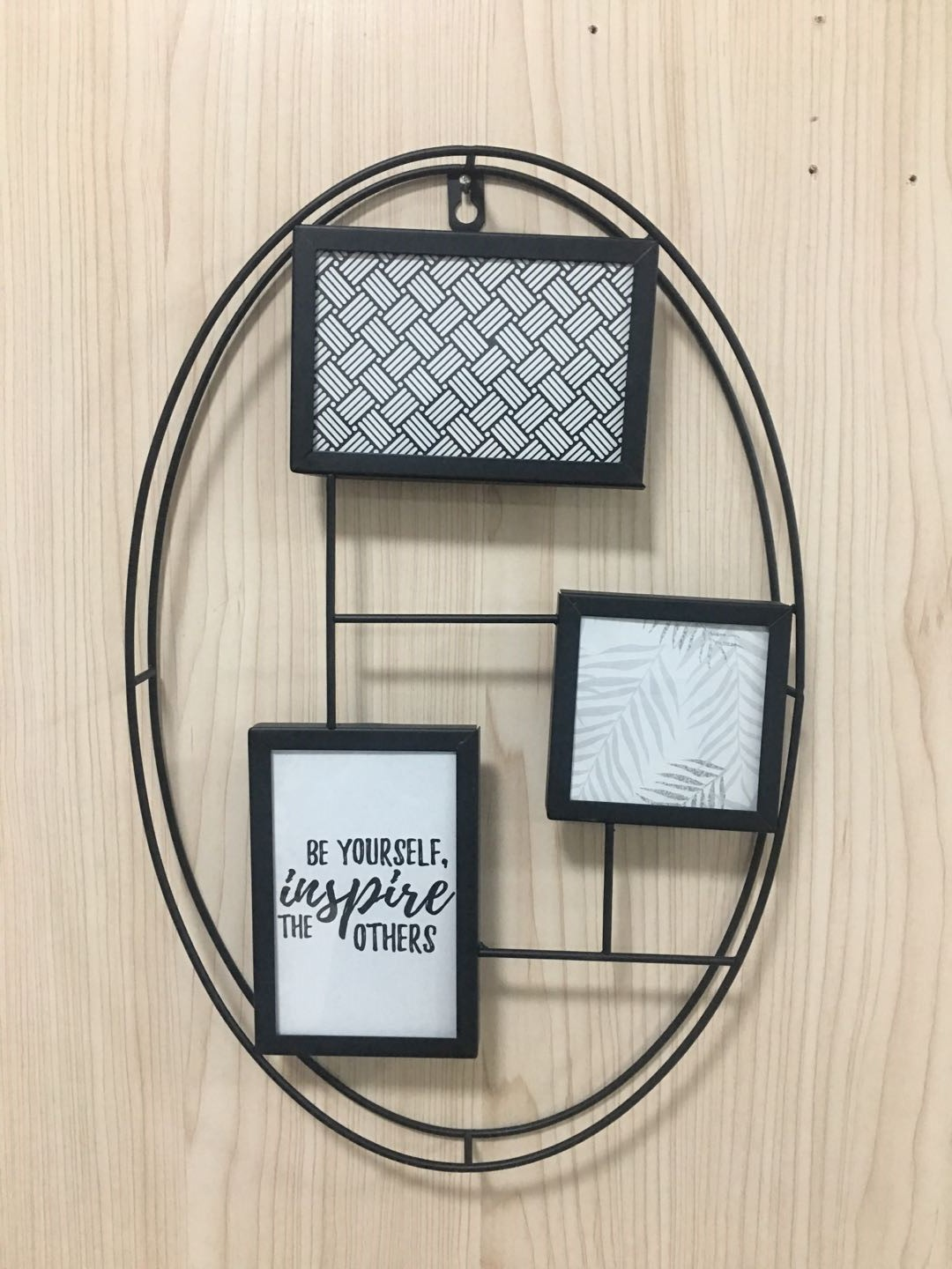 Modern simple iron photo frame home decoration