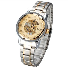 Professional Manufacturer Stainless Steel Chain Mens Automatic Mechanical Wrist Watch