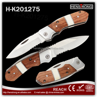 Wholesale sharp brand knives pocket folding knife for camping