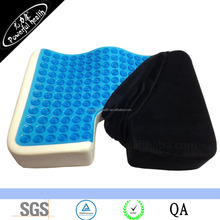 Cool Gel Memory Foam Large Orthopedic Seat Cushion