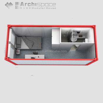 China manufacturer 1 bedroom mobile homes With Good Quality