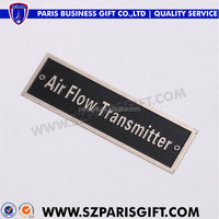 promotion car emblems and names with black enamel