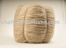 Alxa 100% worsted combed camel tops