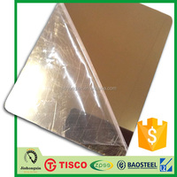 titanium coated stainless steel sheet grade 304 for construction building
