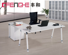 elegant design long office table with cabinet SF002