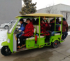 Electric Auto Rickshaw Electric Rickshaw For Adult Electric Passenger Tricycle