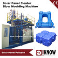Floating solar panel blow moulding machine