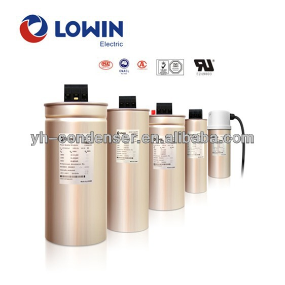 Three Phase low voltage power factor correction capacitor