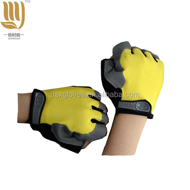 Soft Bike Driving Leather Gloves
