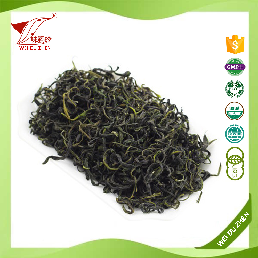 Hot Sales Ya'An Dark Green Delicious Flavored Private Label Slimming Tea Organic Loose Tea