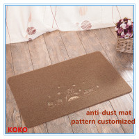 pattern customized cheap polyester outdoor mat