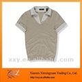 2014 Newest Factory Men T-shirts Polo Cotton Printed