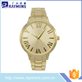 Factory supplier gold men wrist watch wholesale online