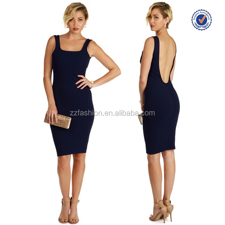 2017New Fashion Ladies Top Level Newest Backless Bangkok Sexy Dresses