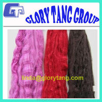 dyed polyester tow for spinning or nonwoven use