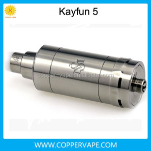 2016 new Coppervape kayfun 5 clone!! 1:1 SS316L Top filling kayfun v5 clone