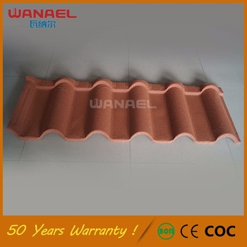 stone chips coated steel tile /guangzhou building material /metal roofing price