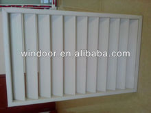 PVC shutter casement window,pvc jalousie windows,pvc louver windows