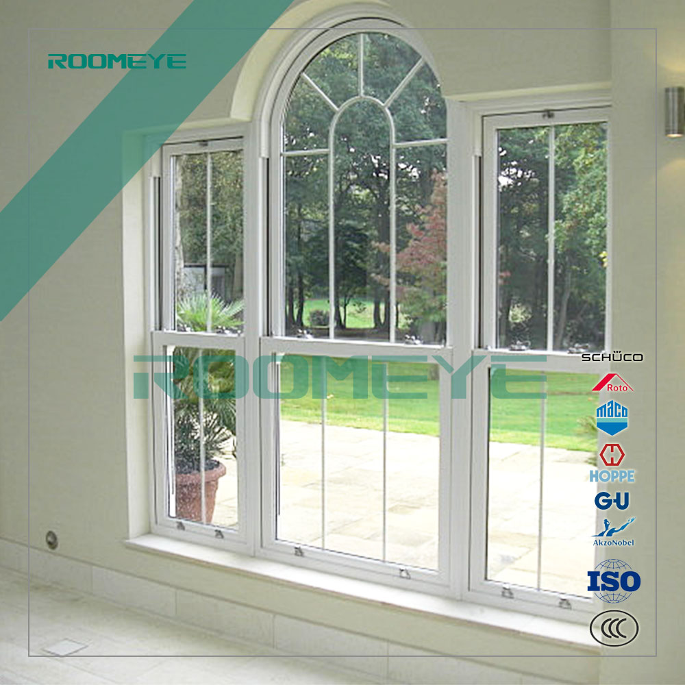 Panama standard pvc windows single glazed upvc window and door made in Roomeye