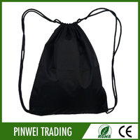 wholesale cheap nylon mesh drawstring bag , mesh drawstring backpack