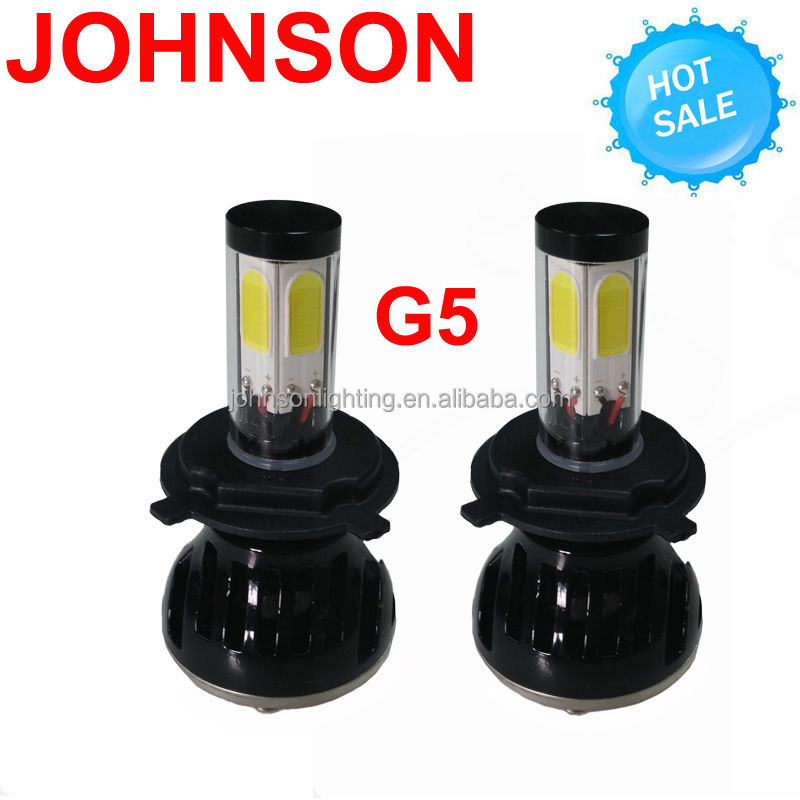 Johnson g5 luces led h4 h7 g8 led headlight 9012 led headlight led 9005 h4 led headlight bulbs h4 halogen bulb replacement