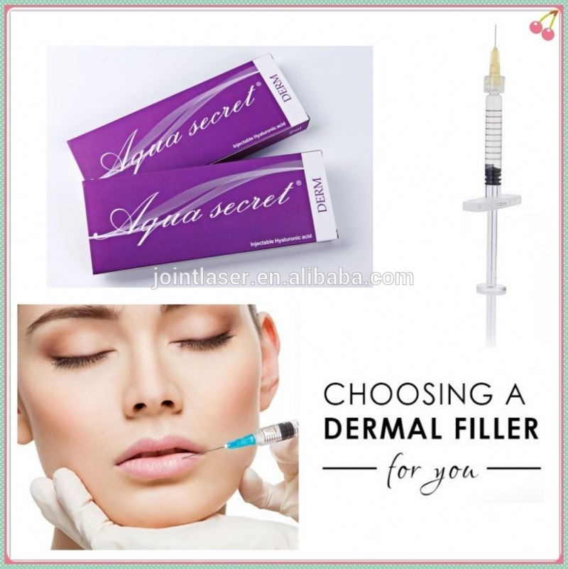 Beauty skin care face filler injection