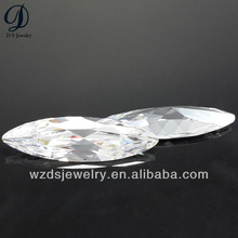 big size Marquise shape synthetic diamond, lab created gems