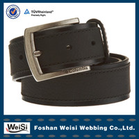 China Wholesale leather man belt in Foshan
