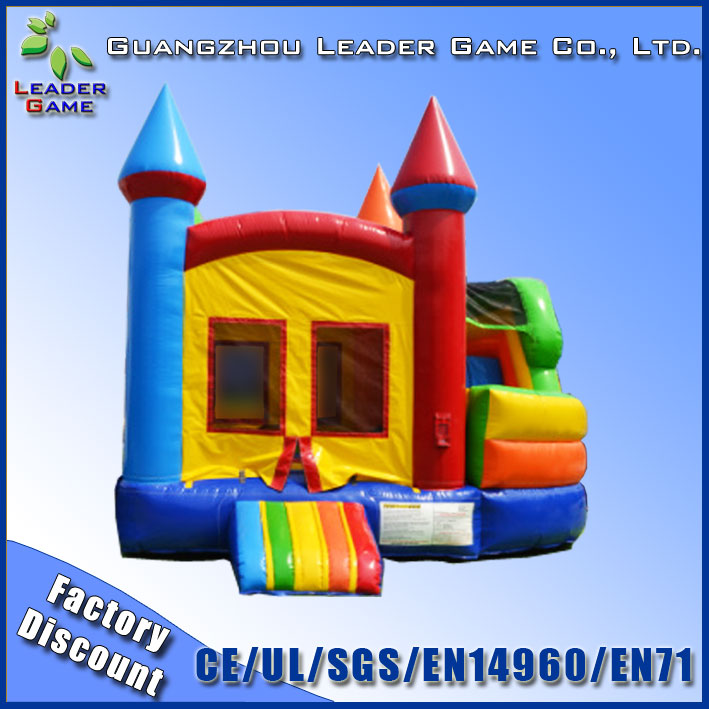 USA hot sale juegos inflables castillos / inflatable bouncy castle for sale