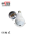 2018 the most popular night vision 360 Degree Panoramic cctv security wireless IP light WiFi bulb camera
