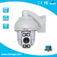4 inch High Speed IR pc mini camera 1/4inch SONY CCD,480TVL,10X optical focus, F=3.9-39mm , 256 presets