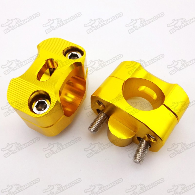 Mini GP Dirt Pit Bike Motard 28mm Handlebar Risers Set
