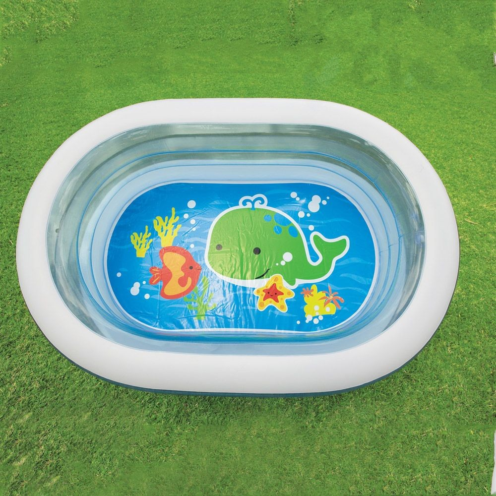 Intex 3 Aqua Transparent Rings Ahoy Pirate Friends Pool