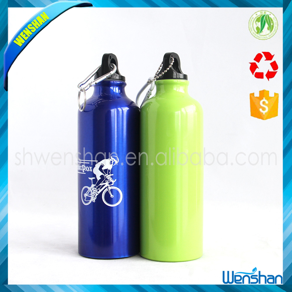 Insulated 750ml aluminium sports water bottle with Screw Cap