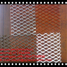Hot Sale Expanded Metal Round Pizza Pan Screen Mesh Sizes/ Anodized Aluminum Shade Screen