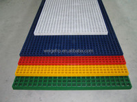 Good Quality WellGRID High Strength FRP GRP Fiberglass Garage Floor Grate