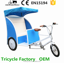 comfortable passenger taxi trike 3 wheels surrey bike for sale