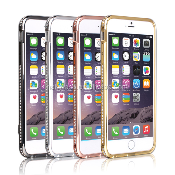 Diamond bumper case for iphone 4 4s, Luxury for iPhone 5 5s 5c bumper sales in bulk, suit for iphone 6 and iphone 6 plus