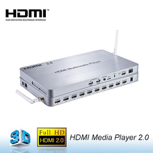 New Product 10-Ways HDMI Streaming Media Player with HDMI 2.0 Android 4.4 System