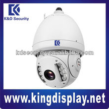 2 Megapixel 1080P MJPEG 100m IR IP66 Protection PTZ IP Camera, OSD